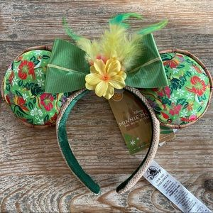Minnie Mouse Main Attraction Ear Headband Tiki Rm